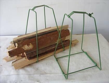 переноска для дров из металла