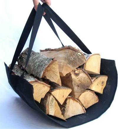 переноска для дров из ткани